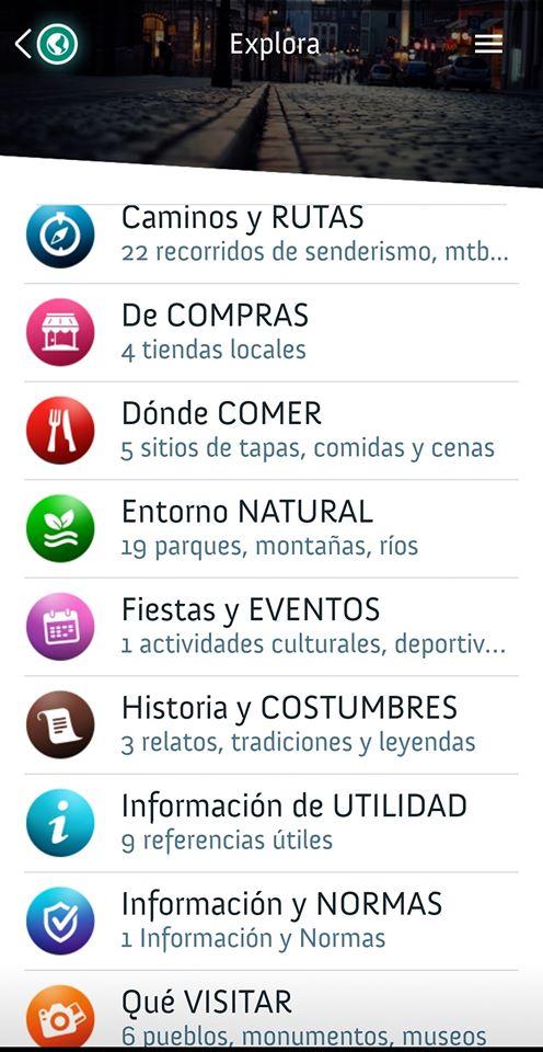 aplicación de apartamentos La Torre, Asturias