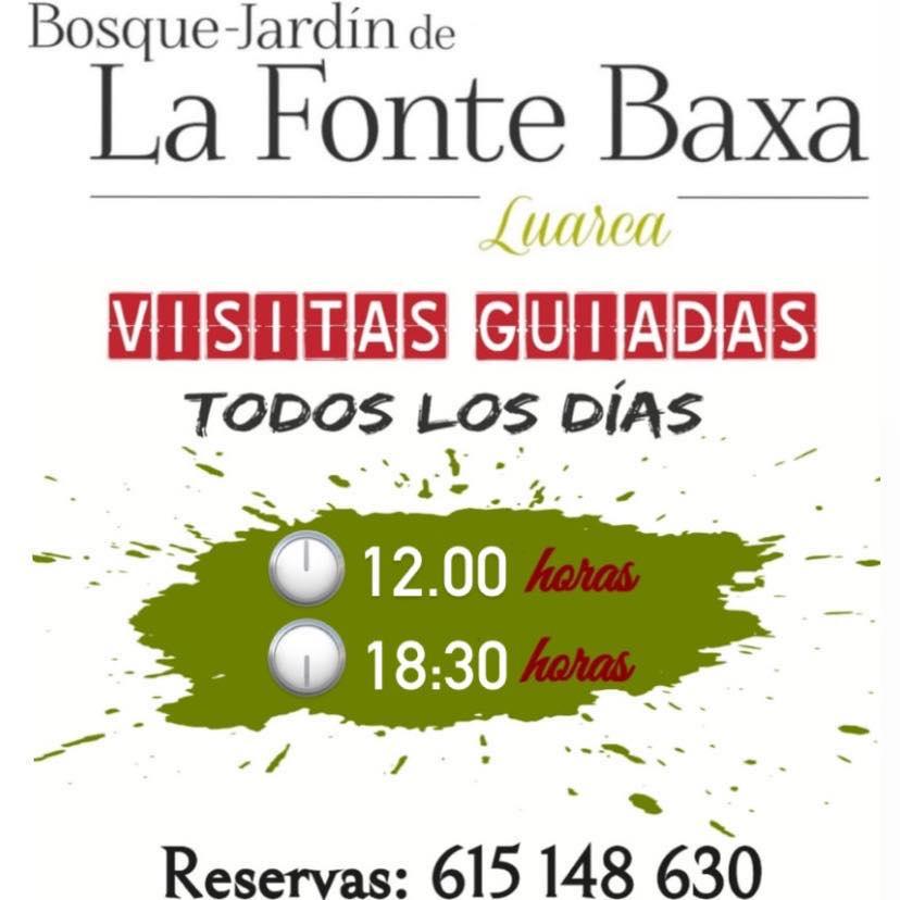 Bosque Jardín de La Fonte Baxa